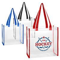 CTB001 CLEAR TOTE BAG