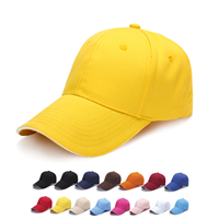 HDW007 CHICARGO 6 PANEL KID COTTON SANDWICH CAP